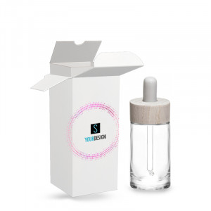 Box for Pure bottle 30ml/1.01oz 20/400 clear glass