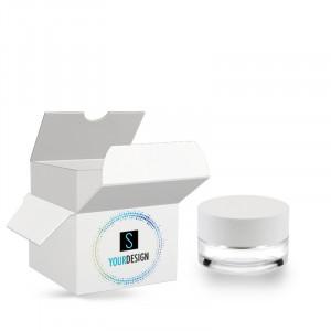Box for Heavy jar 15ml/0.51oz 45/400 transparent glass