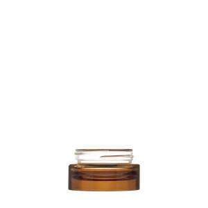 Vaso Luxe 15ML ambra semitrasparente