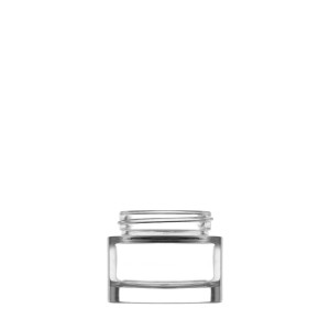 Heavy glass Jar 30ml/1.01oz 45/400 clear