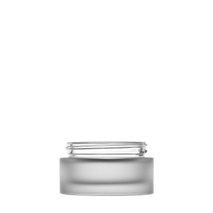 Heavy glass Jar 50ml/1.69oz 60/400 frosted