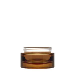 Luxe Jar 50ml/1.69oz 60/400 Amber semi-transparent