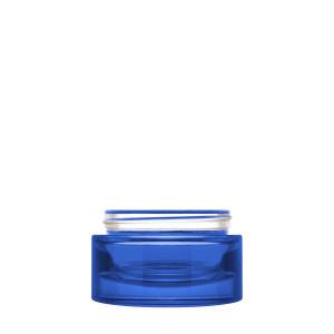 Luxe Jar 50ml/1.69oz 60/400 Blue Semi-Transparent
