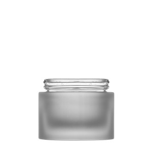 Miracle Jar 50ML/1.69oz  60/400 frosted glass