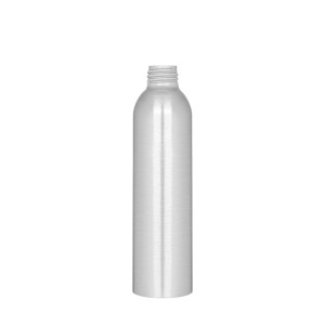 Aluminum bottle 200ml / 6.76oz 24/410