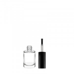 Circus bottle 10 ml clear glass  + Capsula Circus and big brush