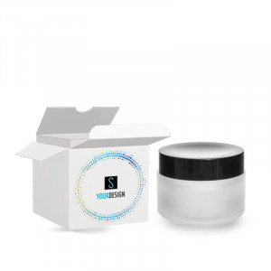Box for Pure frosted glass jar 50ml/1.69oz 53/400