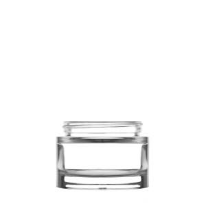 Heavy Clear Glass Jar 75 Ml 60/400