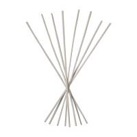 Set 8 Sticks white for Home fragrance glass bottles