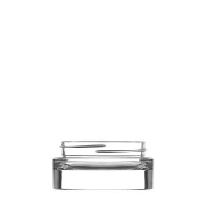 Tarro Sublime 30ml vidrio transparente