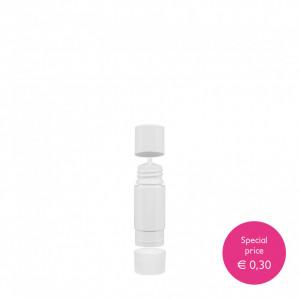 Bottle Drop 15 ml white plastic