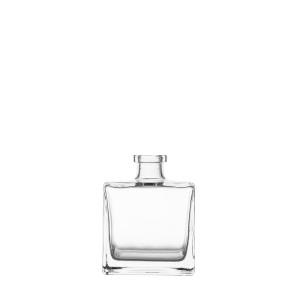 Flasche Quadrat 500 ml Glas