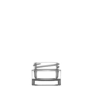 Dose Luxe 10ML durchsichtiges Glas