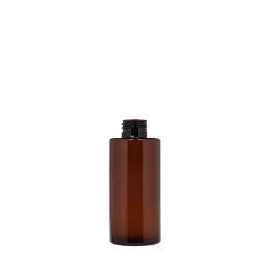Flasche New Pure 150ML. 24/410 green r-PET Bernsteinfarbe