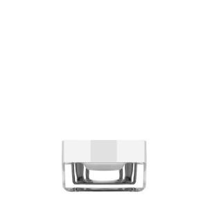 Square jar 15ml in acrylic