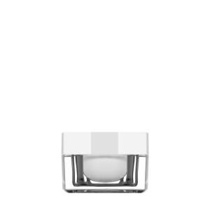 Square jar 30ml in acrylic