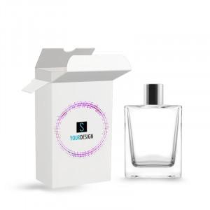 Box for Victor bottle 50ML cover-up varnished glossy black