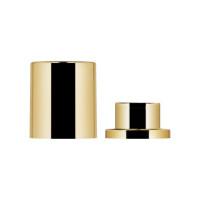 Magnetic Alu Cap + 15 shiny gold  fea ring
