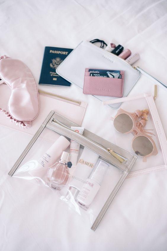 Prodotti cosmetici da viaggio
