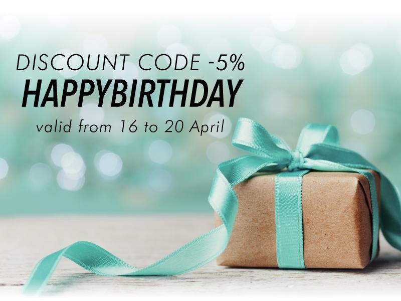 Happy Birthday Stocksmetic Packaging