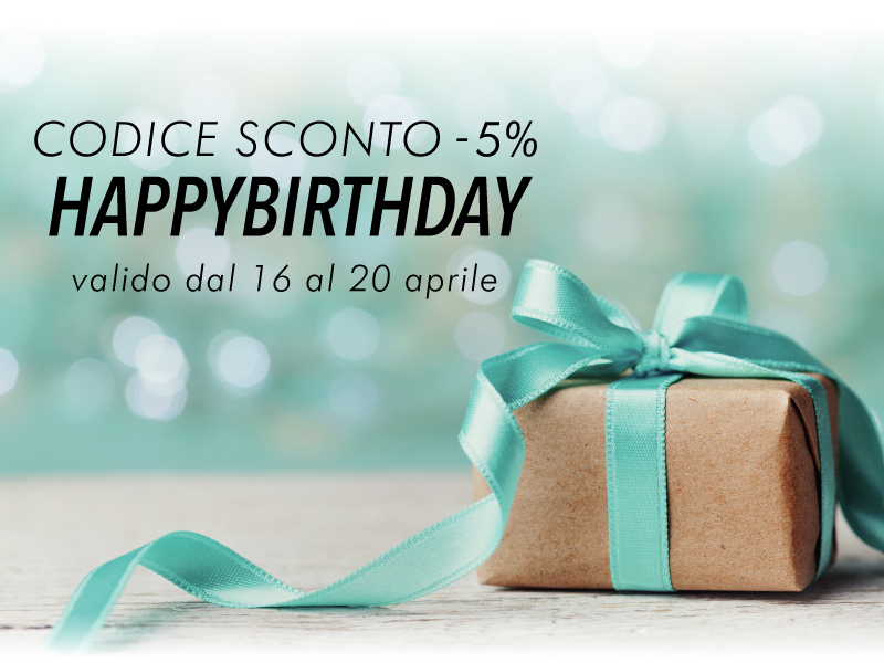 Buon Compleanno - Stocksmetic Packaging