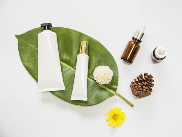 Packaging per cosmetici in farmacia