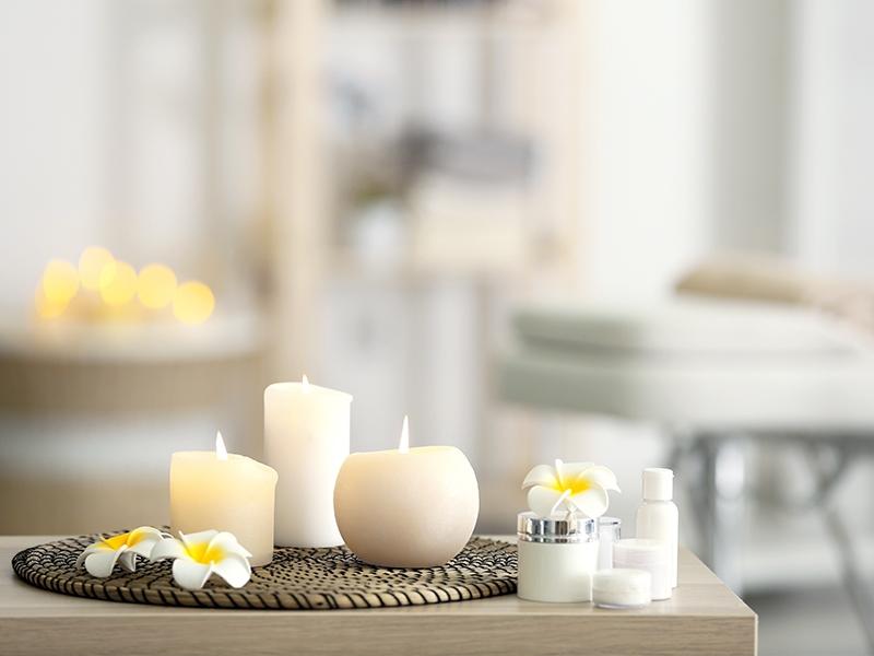 Prodotti cosmetici per spa e centri benessere