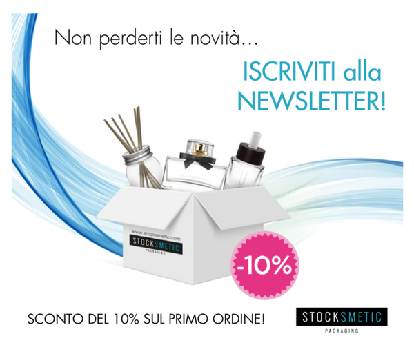 Iscriviti alla Newsletter di Stocksmetic Packaging