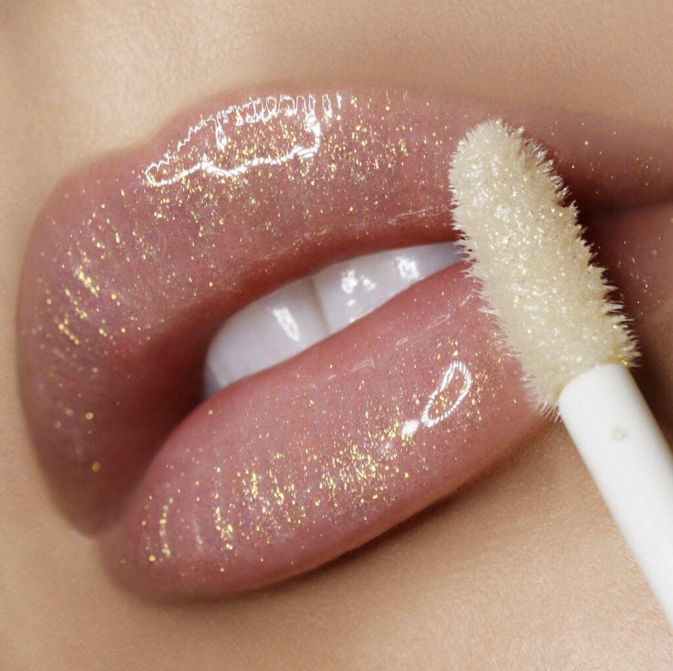 Lip Gloss con glitter