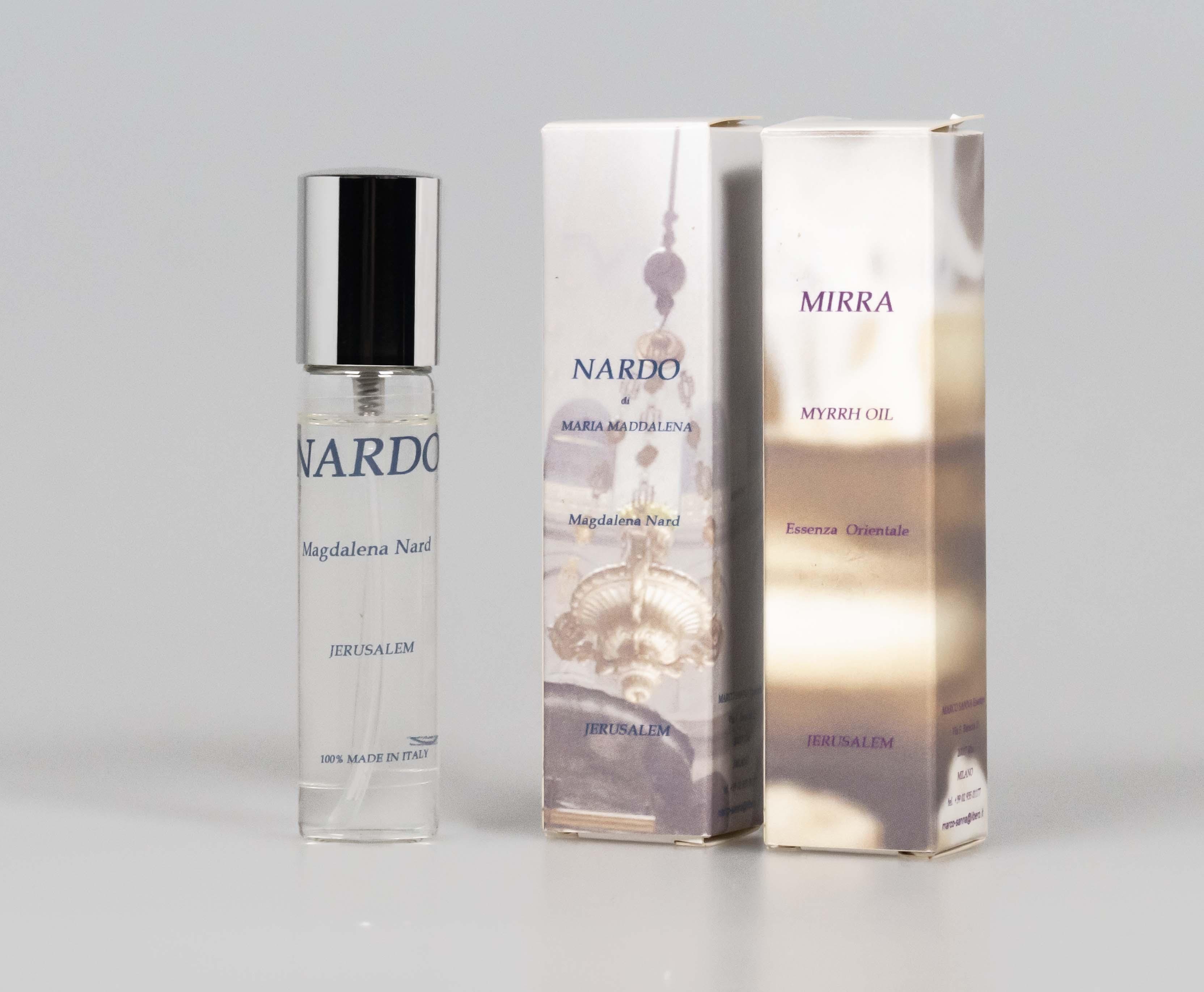 Marco Sanna Essences: olio di nardo e mirra