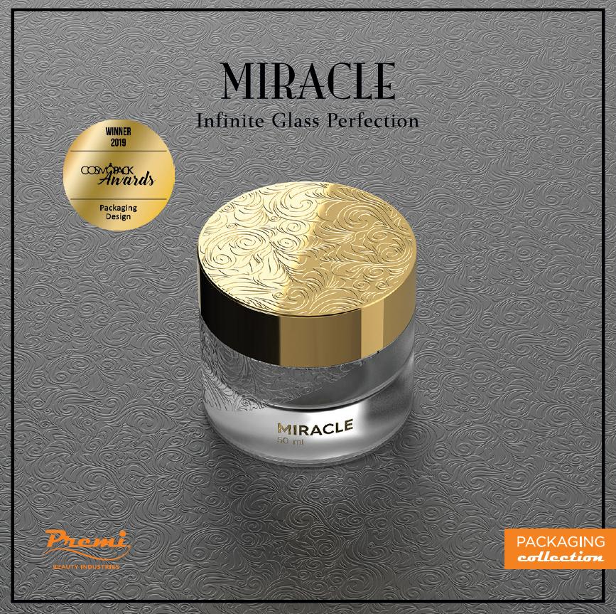 Miracle: il vincitore di Cosmopack Awards
