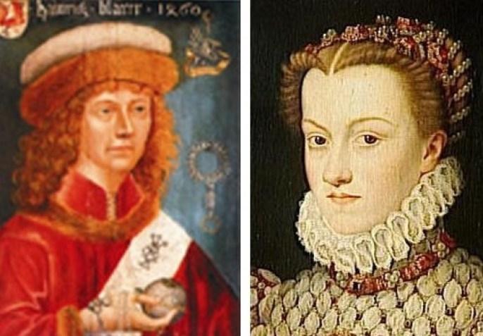 Rene le Florentin e Caterina de' Medici