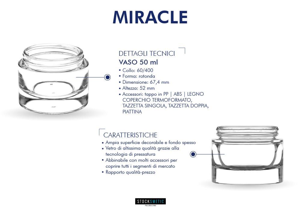 Le caratteristiche tecniche di Miracle