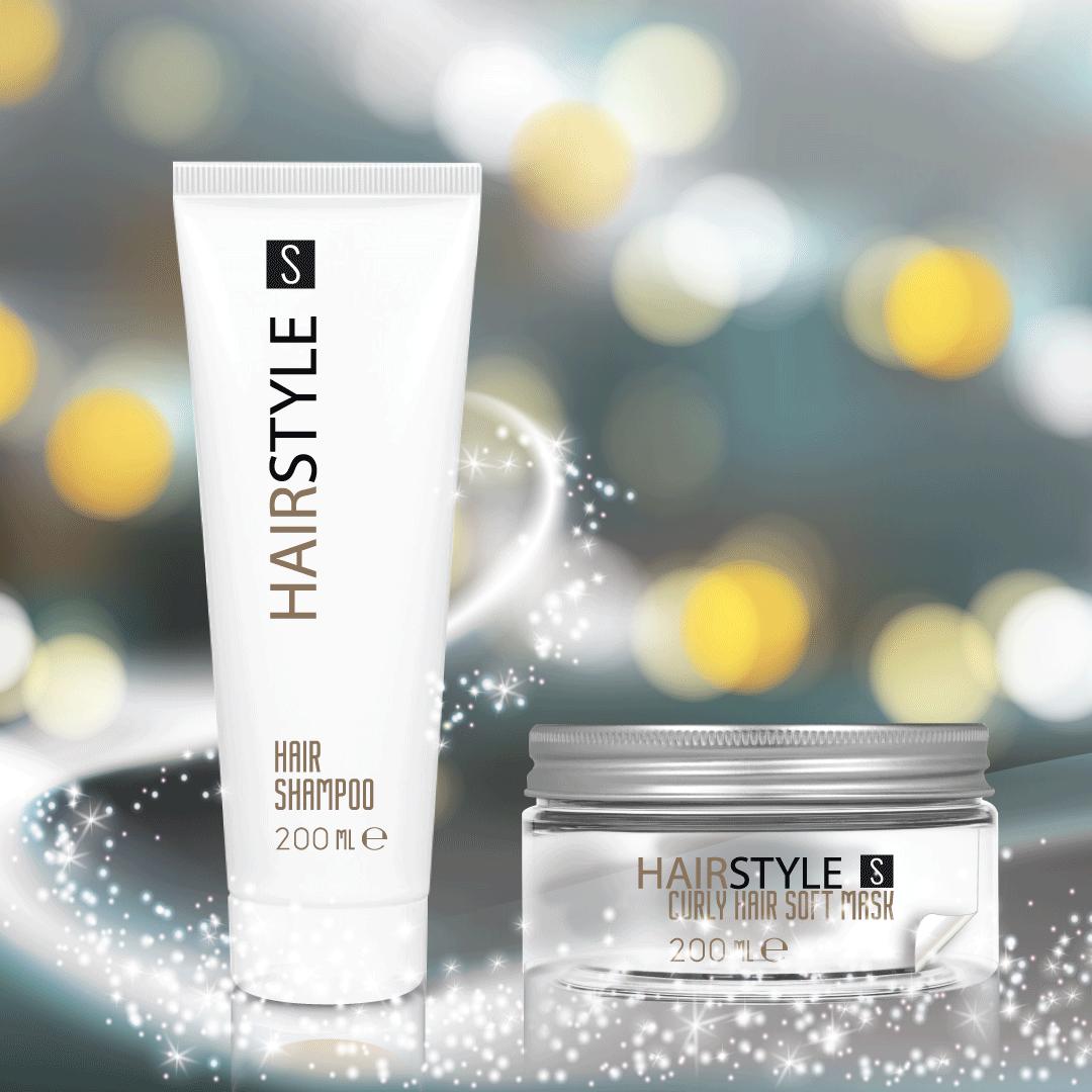 I prodotti per la cura dei capelli con Stocksmetic Packaging