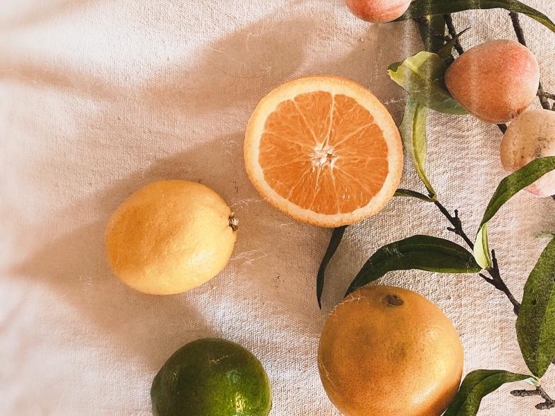 Essenze agrumate per home fragrance
