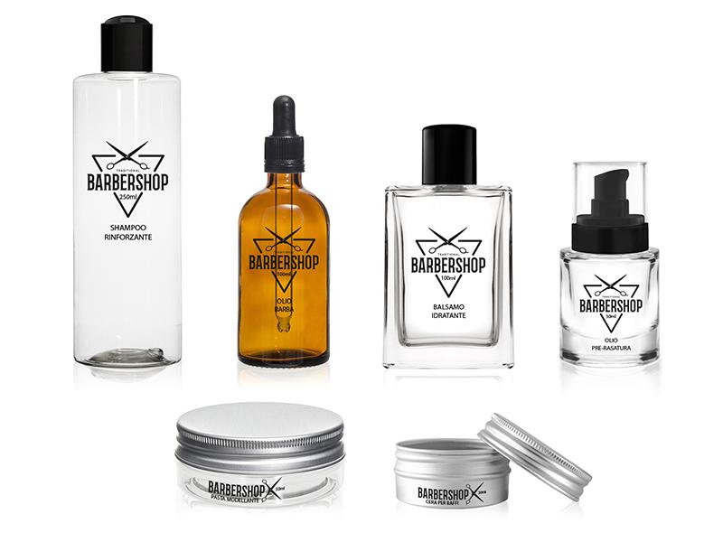 packaging per profumi maschili