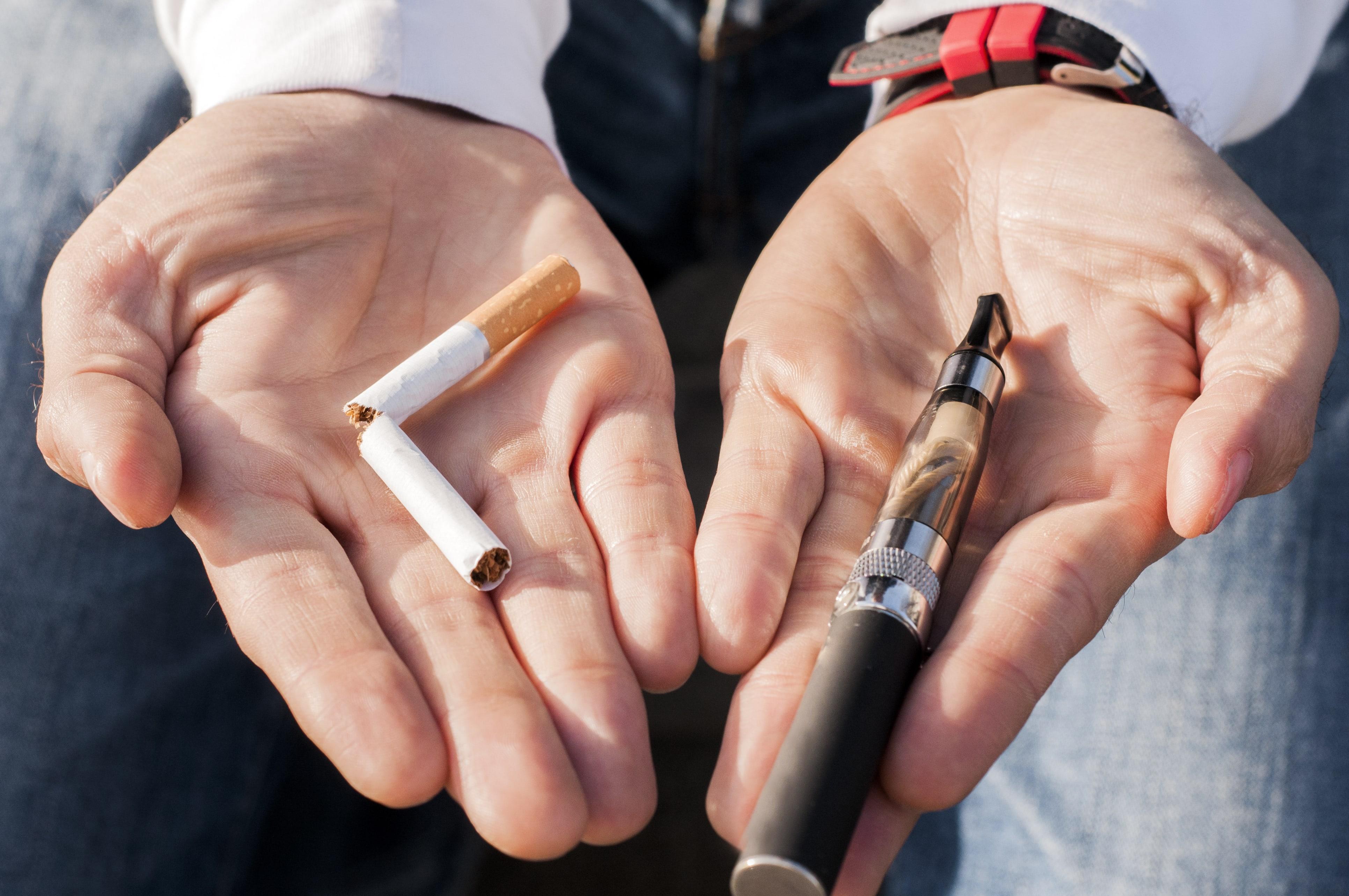 Sigaretta elettronica per la lotta al tabagismo