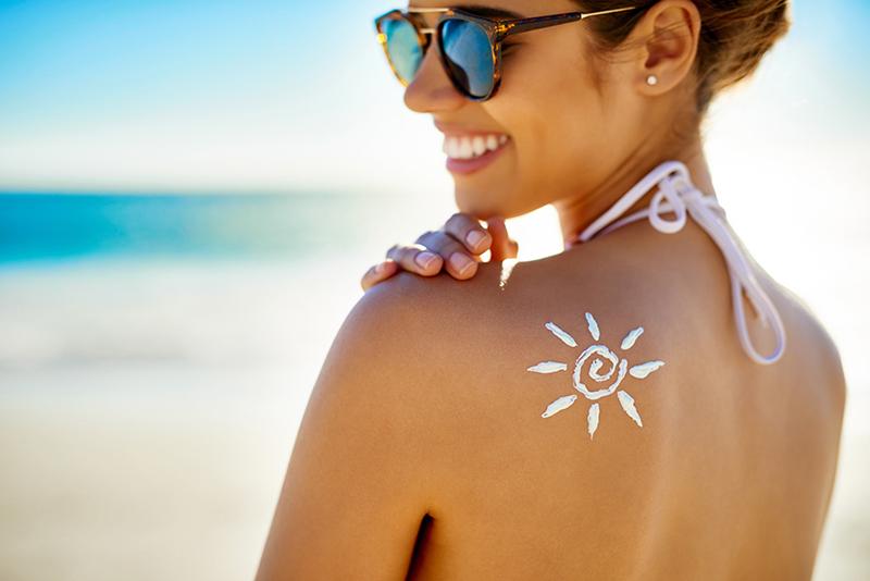 Prodotti solari per il benessere della pelle