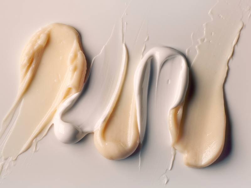 Cream textures